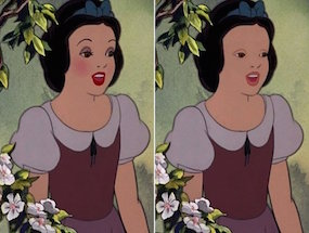 17 Disney Characters Without A Shred Of Makeup